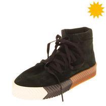 Rrp 265 Adidas Originals by Alexander Wang Leather Sneakers Eu36 2/3 Uk4 us4.5 Photo