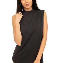 Rrp 275 Acne Studios Vest Top Size S Black Funnel Neck Made in Portugal Photo