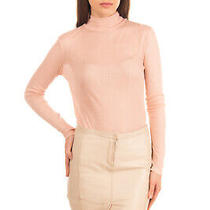 Rrp 310 Costume National Leather Pencil Skirt Size 42 / S Beige Made in Italy Photo