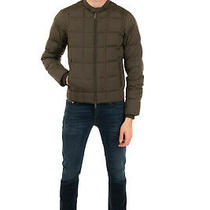 Rrp 330 Armani Jeans Down Quilted Jacket Size 44 / Xs Water Repellent Hooded Photo