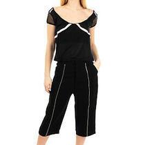 Rrp 345 Mcq Alexander Mcqueen Capri Trousers Size 36 / Xxs-Xs Drop Crotch Zip Photo