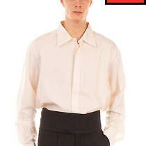 Rrp 565 Prada Silk Cummerbund Belt Size 56 / 3xl Black Wide Pleated Hook Buckle Photo
