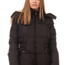 Rrp 570 Coach Down Quilted Jacket Size Xs Detachable Raccoon Fur Trim Hooded Photo