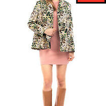 Rrp 680 Philosophy Di Lorenzo Serafini Jacquard Blazer Jacket Size 42 M Blossom Photo