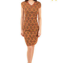 Rrp 775 M Missoni Knitted Sheath Dress Size 40 / S Patterned Made in Italy Photo