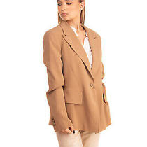 Rrp 820 Emporio Armani Blazer Jacket Size 38 / Xs Fully Lined Made in Italy Photo
