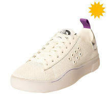 Rrp110 Diesel S-Clever Low Lace W Leather Sneakers Eu 38.5 uk5.5 Us8 Perforated Photo