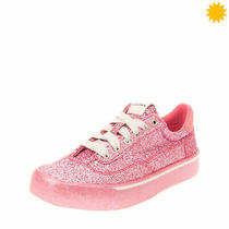 Rrp130 Diesel S-Flip Low W Sneakers Size 39 Uk 6 Us 8.5 Glitter Lace Up Closure Photo