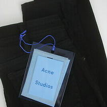 Rrp180 Acne Studios Climb Stay Black Women W25/l30 Bla Konst Skinny Jeans 6372 Photo