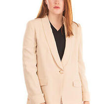 Rrp820 Emporio Armani Blazer Jacket Size 42 M Lined Turn-Up Cuffs Made in Italy Photo