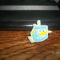 Rubber Croc Shoe Bracelet Charm Angry Birds Blue Box Bird Head Photo