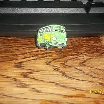 Rubber Croc Shoe Bracelet Charm Disney Cars Filmore Green Bus Photo