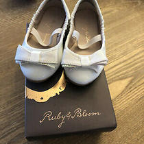 Ruby and Bloom Size 5d Baby Gir White Mary Janes Nib Nordstrom Photo