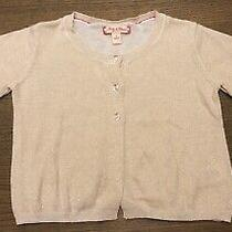 Ruby & Bloom Gold Cardigan Sweater Nordstrom Size 2 Photo