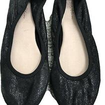 Ruby & Bloom  Nordstrom  Girls Black Ballet Flats  Size 1.5 Photo