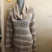 Ruby Rd Icing on the Cake Blush Multi-Color Metallic Turtleneck Sweater Size 2x Photo