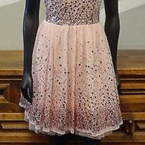 Ruby Rox Blush Pink Sequin Sheer Tulle Cocktail Dress - New Nwt Juniors 7 Photo