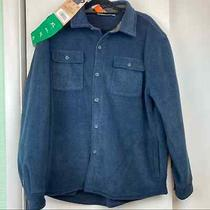 Rugged Elements Navy Sherpa Lined Shirt Jacket Size Xl Nwt Photo
