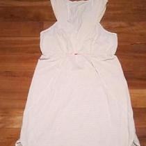 Run Lulu Run Dress White and Peach Size 6 Silverscent Photo