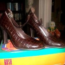 Rush Hour Express Vintage Womens Size 8 1/2 Ankle Strap 4