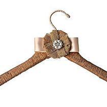 Rustic Wedding Dress Hanger Blush Burlap Bridesmaid Bridal Shower Gift Photo