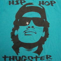 Ruthless Records Eazy E Hip Hop Thugster Aqua T Shirt L Photo
