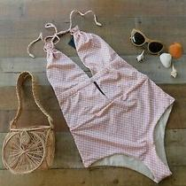 S-1 168 Tavik Anthropologie Free People Emme Villa Desert One Piece Swimsuit L Photo