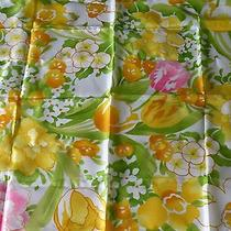 S.kent for Avon Sping Flowers Acetate Scarf. Made in Japan. Waterproof. Photo
