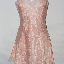 S Small 4 6 Victoria's Secret Nightie Pastel Peach Chemise Lacy & Sexy Lacie Photo