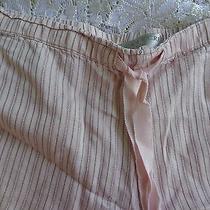 S Small Victorias Secret 100% Silk Sexy Blush Lingerie Sleep Shorts Pj Pajama Photo