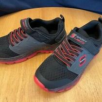 S Sport by Skechers Black & Red Athletic Sneakers Youth Boys' - Choose Size Photo
