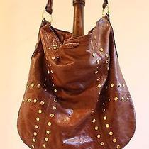 Sabina Brown Leather Handbag  Photo