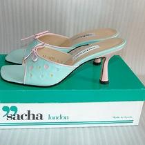 Sacha London Aqua Heel 9m Shoes New Photo