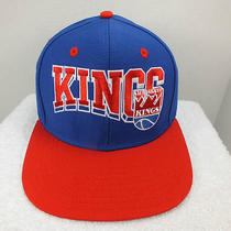 Sacramento Kings Retro Vintage Snapback Hat Cap by Adidas New Adidas Photo