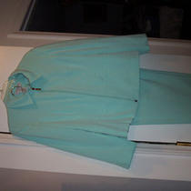 Sag Harbor Suit Pant and Jacket Aqua Color 14p Petite Photo