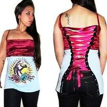 Sailor Jerry/ed Hardy Corset Shirt  Photo