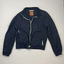 Saint James for Coach Men Navy Blue Windbreaker Jacket Bomber Small S  Photo