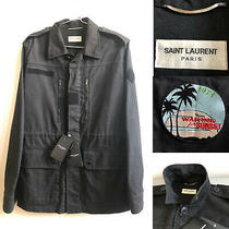 Saint Laurent Paris Hedi Slimane M65 Celine Raf Army Archive Apc Simons Jacket M Photo