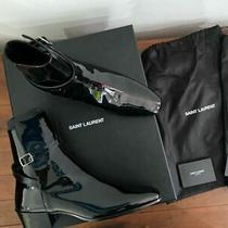 Saint Laurent West Jodhpur Boots Size 38 Bnib Photo