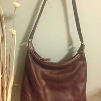 Sak Brown Leather Purse Photo