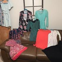 Sale  11 Ladies Lot Dresses Medium  Some Nwt Forever21 Sage Old Navy M D1 Photo