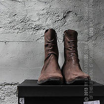 Sale - 60% Now 236  Nicolo Ceschi Berrini Lanvin Mens Leather Zip Boots Guidi Photo