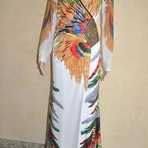 Sale  70% Off Roberto Cavalli Dress With Swarovski Elements M  It 40  Us 6  Nwt Photo