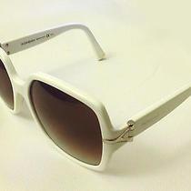 Sale Authentic Ysl Yves Saint Laurent Rare Sunglasses Ysl6307/s C29 Cc White Mod Photo
