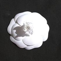 Sale Chanel Camilla White Flower Perfect for Hair Accessory Brooch  Lapel Pin Photo