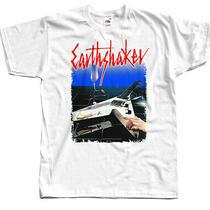 Sale Earthshaker Dtg Print Men T Shirt White Xl Photo