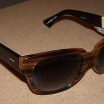 Sale Fossil Womens Jackie Wayfarer Sunglasses Tortoise Brown Photo