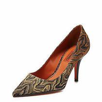 Sale Missoni Retail 795 Women Pointed Toe Woven Pump Nib Authentic Size 38 Photo