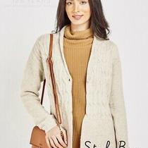 Sale New Barbour Cardigan Jacket Beige Womens Ladies 10-12 Medium Photo