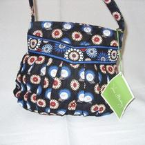 Sale--Vera Bradley Hannah Night Owl Handbag Purse Photo